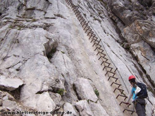 Klettersteig Schwierigkeitsgrad : Schwierigkeit von klettersteigen