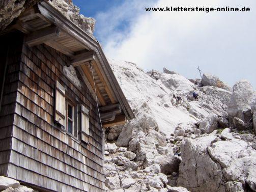Klettersteig Wilder Kaiser Ellmauer Halt : Ellmauer halt