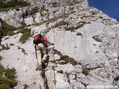 Klettersteigset Platte : Klettersteig haidachstellwand