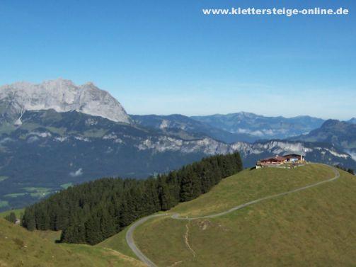 Klettersteig Kitzbüheler Horn : Wanderung auf das kitzbüheler horn tirol you love mountains