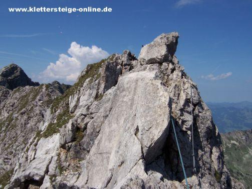 Hindelanger Klettersteig Wengenkopf : Hindelanger klettersteig