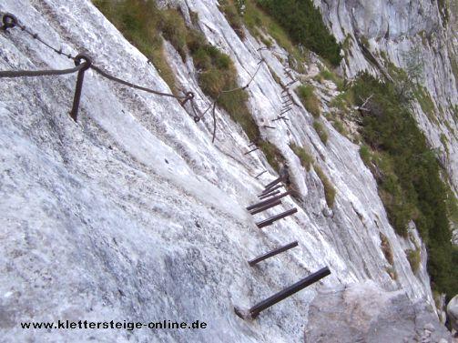 Klettersteig Zugspitze Höllental : Zugspitze höllental