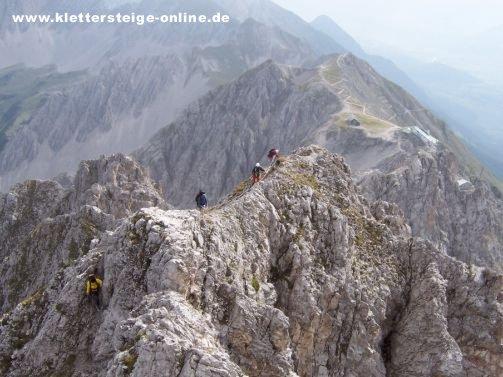 Klettersteigset Innsbruck : Innsbrucker klettersteig