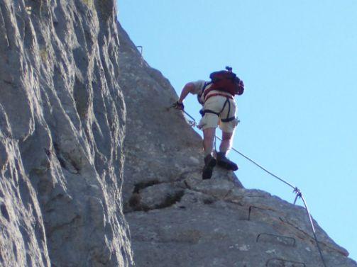 Klettersteig Himmelsleiter : Biggi´s wanderwelt archiv flatzerwand u klettersteig e