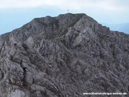 Klettersteig Wankspitze : Wankspitze